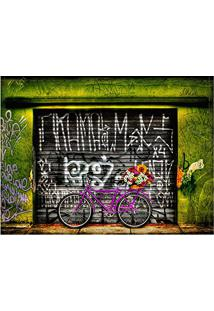 Jogo Americano Decorativo, Criativo E Descolado | Bicicleta Bike Pink - 30 X 40 Cm