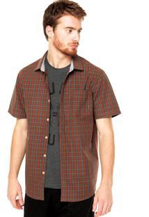 Camisa Billabong Marrom