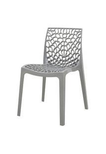 Cadeira Gruver Polipropileno Cinza - 34333 Cinza