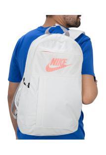 Mochila Nike Elemental 2.0 Lbr - Bege