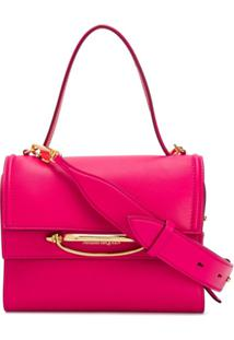 Alexander Mcqueen Small The Story Tote - Rosa