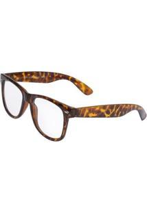 Óculos Ray Flector W3100 Marrom - Feminino-Marrom