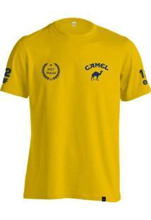 Camiseta Fórmula Retrô Lotus Camel Ano 1987 - Masculino