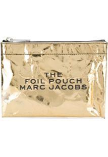 Marc Jacobs Carteira Foil - Dourado