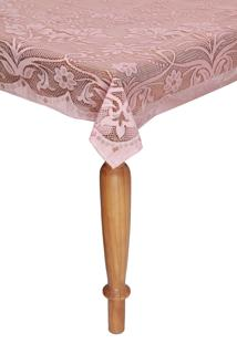 Toalha De Mesa Lepper Realeza Retangular 6 Lugares Rosa 1,50 X 2,10