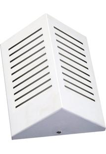 Arandela De Sobrepor Triangular Rasgo Branco