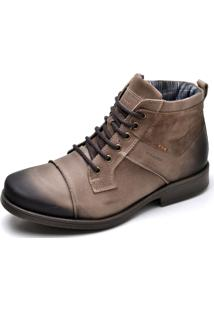 Bota Top Franca Shoes Casual Café