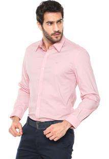Camisa Ellus Classic Rosa