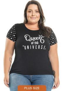 Blusa Queen Preto
