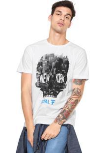 Camiseta Fatal Surf New York Branca