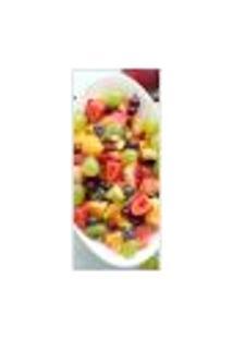 Adesivo Decorativo De Porta - Salada De Frutas - 345Cnpt Auto Colante