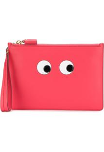 Anya Hindmarch Clutch Mini De Couro - Rosa