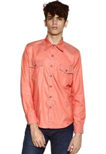 Camisa Jeans Neesie Coral