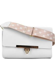 Bolsa Sweetchic Mini Bag Firenze Feminina - Feminino-Branco