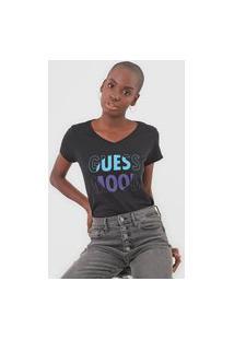 Camiseta Guess Mood Preta