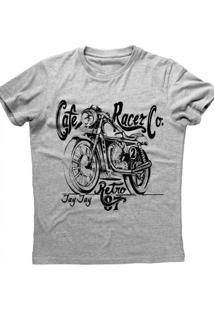 Camiseta Jay Jay Cafe Racer Cinza Mescla