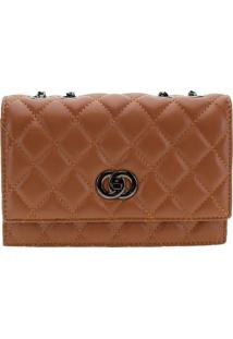 Bolsa Feminina Transversal Fuseco - Wbfp98022 Caramelo