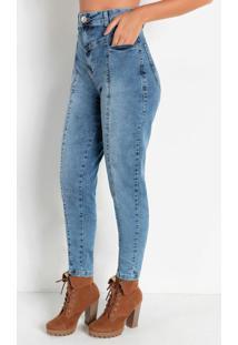 Calça Jeans Clara Mom Jeans Sawary