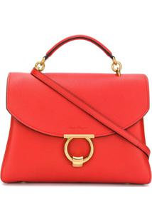 Salvatore Ferragamo Margot Shoulder Bag - Vermelho