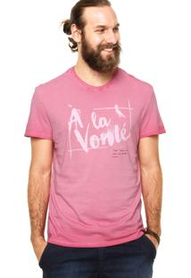 Camiseta Reserva A Lá Vont Rosa