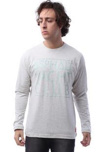 Camiseta M/L Asphalt High Square Masculina - Masculino