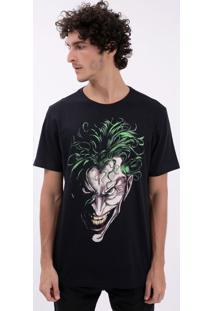 Camiseta Com Estampa Coringa
