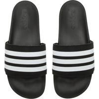 dda5272aa Chinelo Slide Adidas Originals Adilette Comfort Preto/Branco