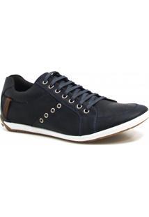 Sapatênis Casual Zariff Shoes Couro