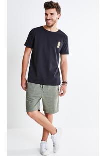 Camiseta Estampa Abacaxi