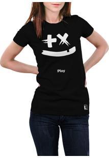 Camiseta Hunter Mais Ou Menos Preta