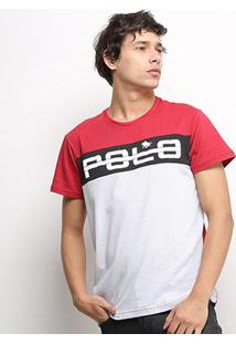 Camiseta Rg 518 Recorte Estampada Masculina - Masculino