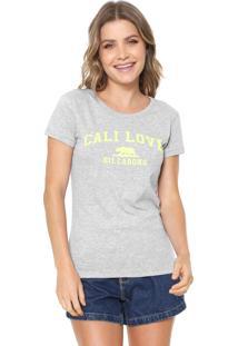 Camiseta Billabong Cali Love Ll Cinza