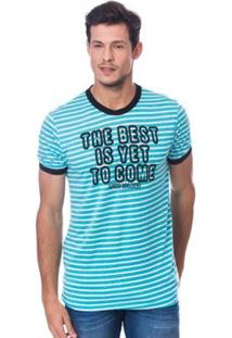 Camiseta Long Island Best Masculina - Masculino-Azul Claro