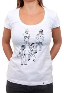 Chegaí - Camiseta Clássica Feminina