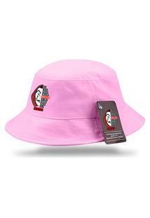 Chapeu Bucket Moda Praia Personalizado Serie La Casa De Papel Rosa