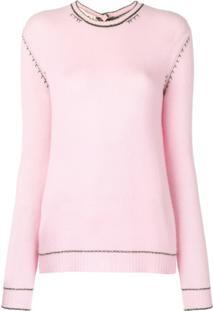 Marni Suéter De Cashmere - Rosa