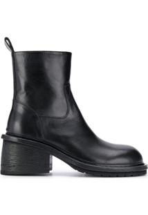 Ann Demeulemeester Ankle Boot - Preto