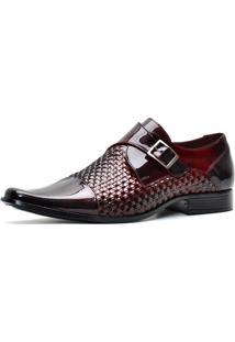Sapato Pro Mais Masculino 601Co Vermelho Escuro