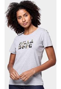 Camiseta Billabong Lost Paradise Feminina - Feminino-Mescla