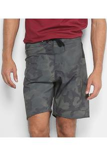 Bermuda Hang Loose Camouflage Masculina - Masculino