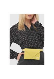 Pochete Colcci Envelope Amarela