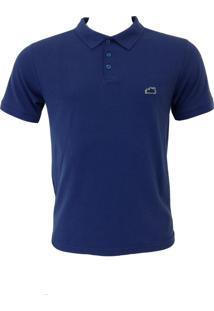 Camisa Polo Santa Fe Básico Azul