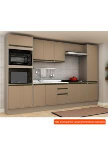 Cozinha Compacta Safira 13 Pt 3 Gv Capuccino E Creme