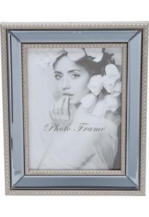 Porta Retrato 25X30Cm Plástico Com Espelho Prestige