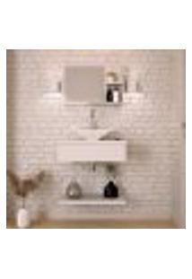 Conjunto Para Banheiro City I Branco