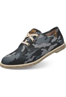 Oxford Usthemp Legend Vegano Casual Estampa Urban Cinza