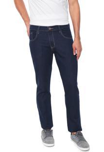 Calça Jeans Venom Reta Básica Azul