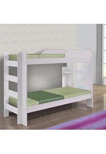 Beliche Solteiro Smart Sallêto Móveis Branco