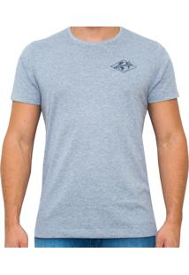 Camiseta Kevingston Thunder Promo Cinza Mescla De Algodao