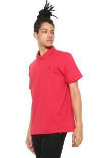 Camisa Polo Coca-Cola Jeans Reta Logo Vermelha